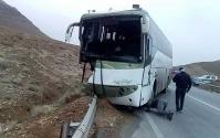 حادثه تصادف در قم 25 تا مصدوم برجای گذاشت