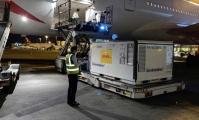 محموله جدید واکسن از ژاپن به فرودگاه امام خمینی رسید