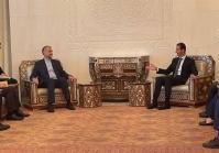 وزیر خارجه ایران با بشار اسد دیدار کرد+فیلم