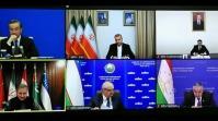 نشست مجازی وزرای خارجه ۶ کشور همسایه افغانستان