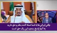 تحقیر حکام سعودی توسط رئیس انجمن روزنامه نگاران مصری؛ فکر حمله به خاک ایران را از سرتان بیرون کنید+فیلم