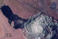 ثبت بارش های طوفان شاهین در ۳۵ ایستگاه هواشناسی سیستان و بلوچستان