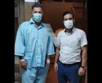 شهریار فوتبال ایران در بیمارستان