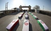 پیکر مطهر ۲۰ شهید دفاع مقدس به آغوش وطن بازگشت