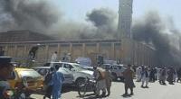 حمله انتحاری به محل نماز جمعه شیعیان در افغانستان با 50 کشته و زخمی+فیلم