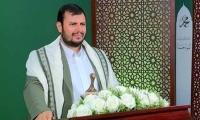 رهبر انصارالله در اجتماع عظیم مردم یمن: جانم فدای شما