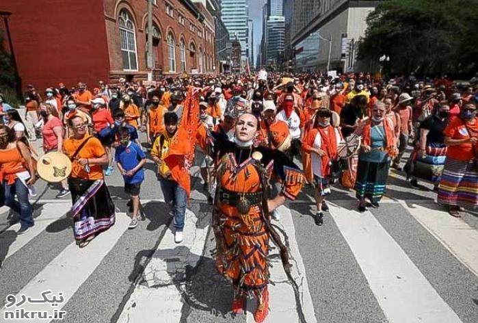 روز ملی کانادا زیر سایه سنگین کشف گورهای جمعی کودکان بومی