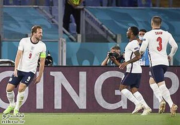 انگلیس با پیروزی ٤ بر صفر برابر اوکراین به نیمه نهایی یورو ٢٠٢٠ صعود کرد