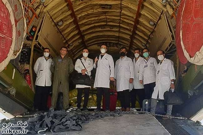 ۲۰۰ نفر از کادر درمان سپاه برای خدمترسانی به بیماران کرونایی وارد زاهدان شدند