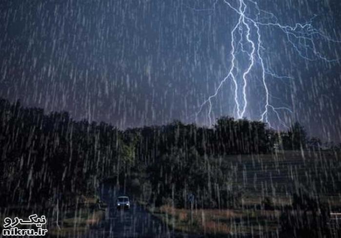باران ۵ روزه در ۲۴ استان/ هشدار آبگرفتگی و سیلاب در ۱۹ استان
