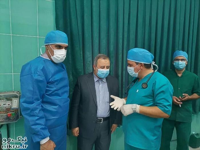 انجام نادرترین عمل جراحی چشم اسب در تبريز
