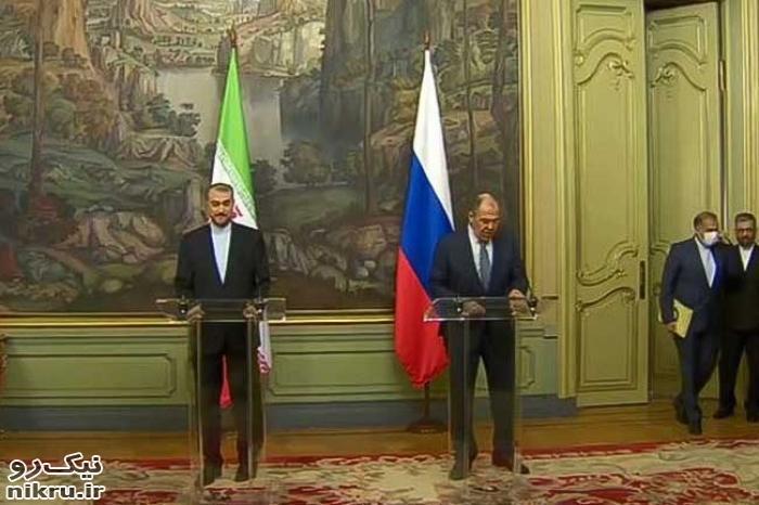 نشست خبری وزیران خارجه ایران و روسیه/ لاوروف: برجام باید بدون تغییر اجرا شود