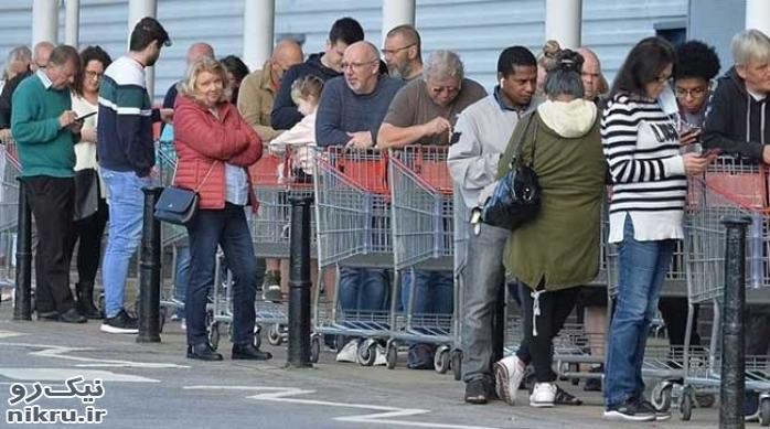 وحشت کمبود مواد غذایی و نوشیدنی در انگلیس